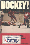 1969 Hockey The Story of the World's Fastest Sport Book Johnny Bower Bobby Orr Glenn Hall Gordie Howe