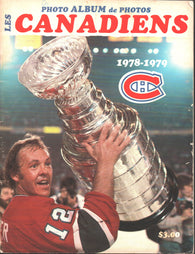 1977-78 Montreal Canadiens Photo Album and Yearbook Guy Lafleur Ken Dryden Yvan Cournoyer