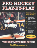 1995-96 NHL Pro Hockey Play By Play Book The Ultimate NHL Guide All The Stats and MORE!