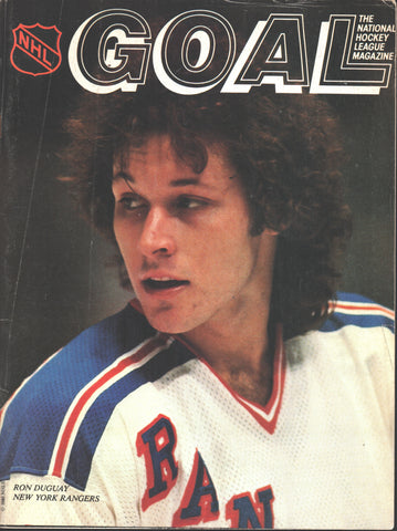 September 27, 1981 New York Rangers @ Philadelphia Flyers Preseason Program Bobby Clarke Ron Duguay