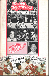 1978-79 Detroit Red Wings Media Guide Fact Book Reed Larson Rogie Vachon Vaclav Nedomansky