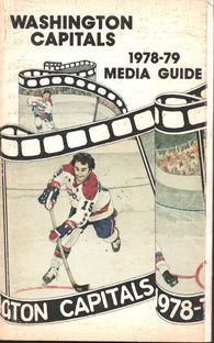 1978-79 Washington Capitals Yearbook Media Guide Guy Charron Rick Green Ryan Walter