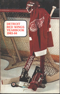 1983-84 Detroit Red Wings Media Guide Steve Yzerman John Ogrodnick Ron Duguay Brad Park
