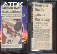 June 9, 2001 New Jersey Devils - 1 @ Colorado Avalanche - 3 Gm#7 Martin Brodeur Ray Bourque
