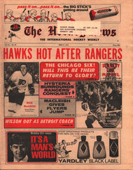 April 27, 1973 The Hockey News Vol 26 No 30 Rod Gilbert Rick MacLeish Dale Rolfe Larry Wilson