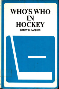 1973 Who's Who in Hockey Book by Harry C. Kariher Gordie Howe Bobby Orr Phil Esposito