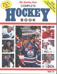 1990-91 NHL Sporting News Complete Hockey Guide Book Mark Messier Wayne Gretzky