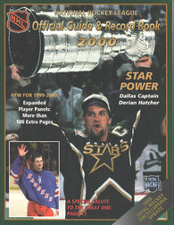 1999-00 NHL Official NHL Hockey Guide Book Wayne Gretzky Derian Hatcher Dallas Stars