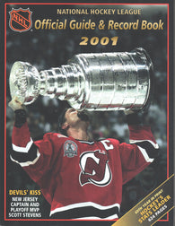 2000-01 NHL Official NHL Hockey Guide Book Scott Stevens New Jersey Devils Pavel Bure