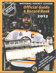 2011-12 NHL Official NHL Hockey Guide Book Zdeno Chara Boston Bruins Nicklas Lidstrom