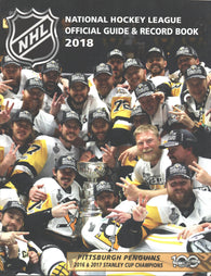 2017-18 NHL Official NHL Hockey Guide Book Sidney Crosby Pittsburgh Penguins Evgeni Malkin
