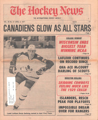 April 8, 1977 The Hockey News Vol 30 No 27 Borje Salming Guy Lafleur Chico Resch