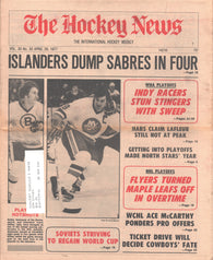 April 29, 1977 The Hockey News Vol 30 No 30 Bobby Schmautz Clark Gillies Guy Lafleur