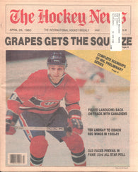 April 25, 1980 The Hockey News Vol 33 No 30 Pierre Larouche Don Cherry Ted Lindsay NHL Playoffs