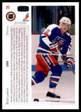 1991 Upper Deck Brian Leetch Canada Cup #35 Hockey Card New York Rangers