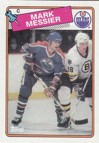 1988-89 Mark Messier Edmonton Oilers #93 O Pee-Chee NHL Hockey Card