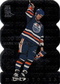 1998-99 Be a Player All-Star Milestones #M8 Mark Messier Edmonton Oilers Card