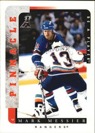 1996-97 Mark Messier New York Rangers PINNACLE #111 Be a Player NHL Hockey Card