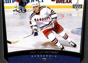 1998-99 Upper Deck Pat LaFontaine New York Rangers #133 Hockey Card