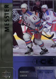 2001-02 Upper Deck Ice #30 Mark Messier ICE New York Rangers Card