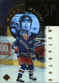 1995-96 SP Holoview #FX14 Mark Messier New York Rangers Card