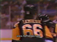 February 13, 1988 Pittsburgh Penguins - 7 @ Los Angeles Kings - 5 Mario Lemieux