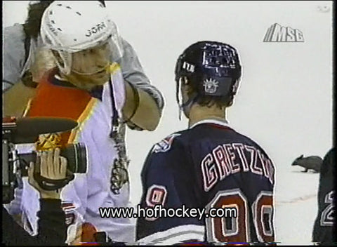 April 25, 1997 Gm#5 New York Rangers - 3 @ Florida Panthers - 2 Wayne Gretzky