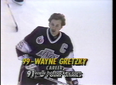 February 22, 1993 Los Angeles Kings - 5 @ Tampa Bay Lightning - 2 Wayne Gretzky