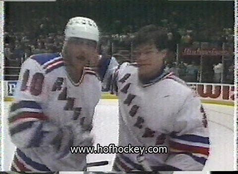 May 9, 1994 Gm#5 Washington Capitals - 3 @ New York Rangers - 4 Mark Messier