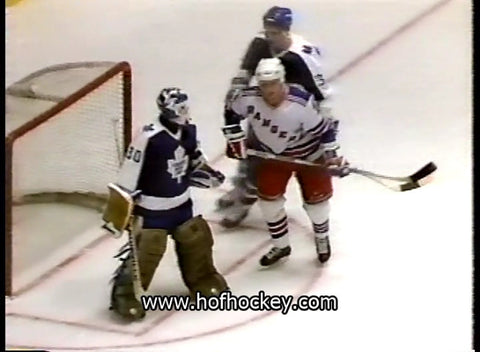 March 1, 1989 Toronto Maple Leafs - 3 @ New York Rangers - 7 Allan Bester Brian Leetch