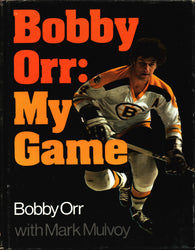 Bobby Orr : My Game NHL Hardcover Book with Mark Mulvoy Boston Bruins