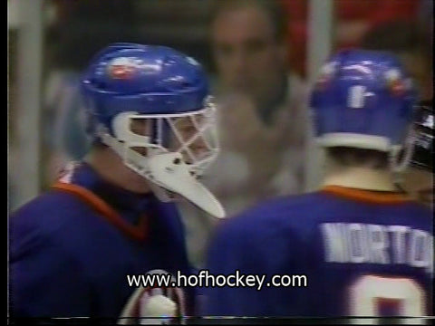 April 7, 1990 Game Two New York Islanders - 2 @ New York Rangers - 5