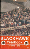 1985-86 Chicago BlackHawks Team Media Guide Denis Savard
