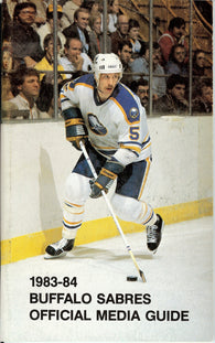 1983-84 Buffalo Sabres Media Guide Yearbook Mike Ramsey