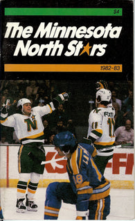 1982-83 Minnesota North Stars Media Guide Yearbook Neal Broten