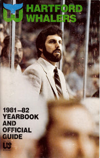 1981-82 Hartford Whalers Yearbook and Official Guide Ron Francis