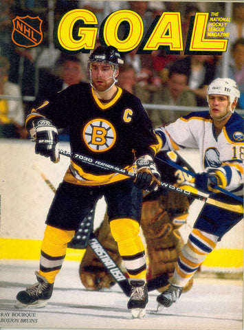 March 3, 1987 Boston Bruins - 4 @ New York Islanders - 4 GOAL Program Ray Bourque Mike Bossy