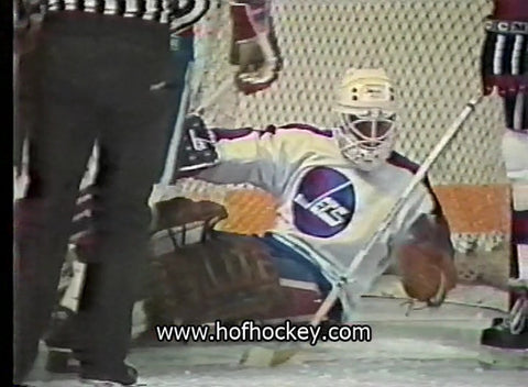 December 16, 1983 New Jersey Devils - 1 @ Winnipeg Jets - 4 Brian Hayward