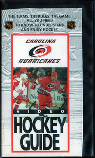 Carolina Hurricanes Video Hockey Guide VHS TAPE Stu Grimson