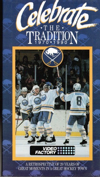 1990 Buffalo Sabres VHS Tape Celebrate The Tradition Dave Andreychuk Phil Housley Gilbert Perreault