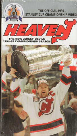 1994-95 New Jersey Devils Heavenly Championship VHS TAPE Scott Stevens Niedermayer Claude Lemieux