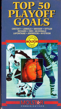 Top 50 Goals in NHL Playoff History VHS Tape Bobby Orr Darryl Sittler Mark Messier Wayne Gretzky