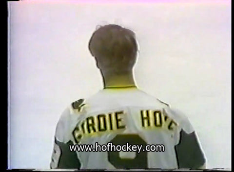 March 9, 1978 New England Whalers - 4 @ Houston Aeros - 6 Gordie Howe