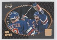 1995-96 Pinnacle Summit #111 Mark Messier New York Rangers Hockey Card