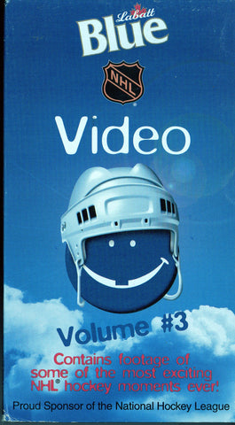 1998 NHL Blue Video Volume #3 VHS Tape Footage of Some of Most Exciting Moments Ever!