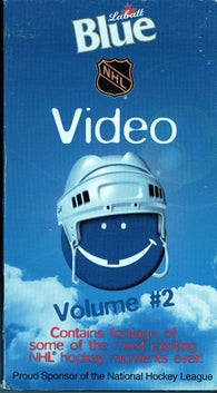 1998 NHL Blue Video Volume #2 VHS Tape Footage of Some of Most Exciting Moments Ever!