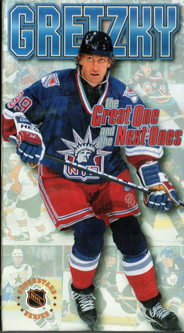 The Great Ones and the Next Ones VHS Tape Wayne Gretzky Teemu Selanne Mats Sundin