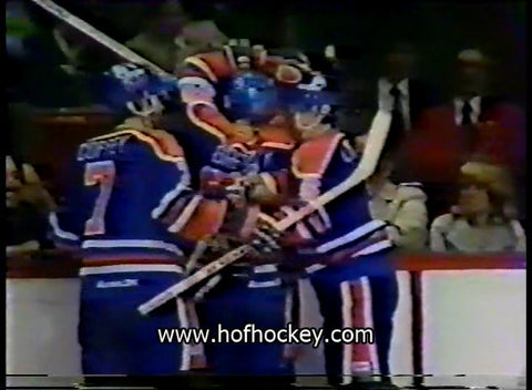 April 9, 1981 Game Two Edmonton Oilers - 3 @ Montreal Canadiens - 1 Jari Kurri Gretzky