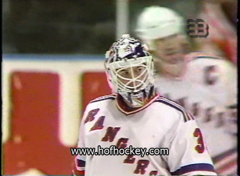 April 4, 1994 Florida Panthers - 2 @ New York Rangers - 3 Mike Richter