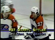 November 3, 1983 Los Angeles Kings - 6 @ Philadelphia Flyers - 5 Darryl Sittler